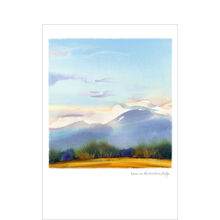 Just Because Card (Snow on Mountains) for Business