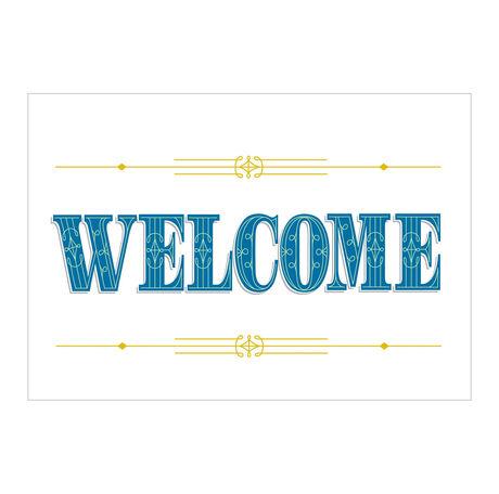 Regal Welcome Business Hallmark Card