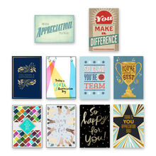 Assorted Star Qualities Employee Appreciation Cards, 150 Pack