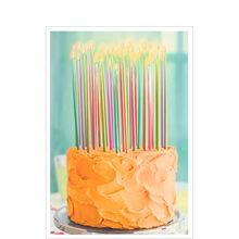 Birthday Cake and Candles Business Hallmark Card