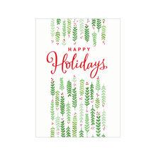Happy Holidays Holly Business Hallmark Card