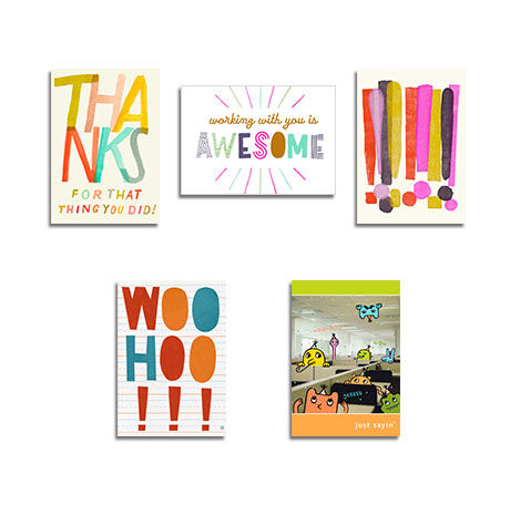 Assorted Workplace Celebrations Cards, 25 Pack