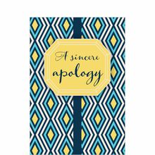 Confident Apology