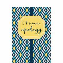 Confident Apology