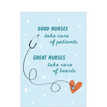 Nurse Appreciation Card (Great Nurses) for Healthcare Staff