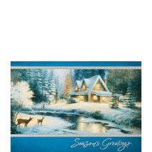 Thomas Kinkade: Deer Creek Cottage