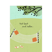 Hammock to Relax Birthday Business Hallmark Card