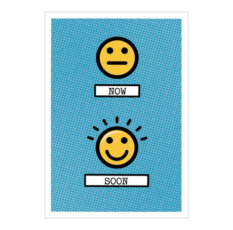 Emoji Encouragement Business Hallmark Card