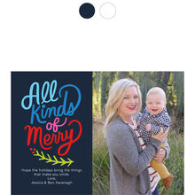 All Kinds of Merry Hallmark Holiday Photo Card