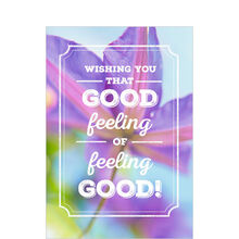 Good Feelings in Bloom