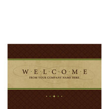 Company Welcome Personalized Cover Hallmark Card