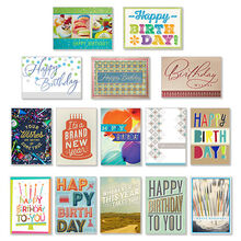 Assorted Birthday Cards for Business, 75 Pack