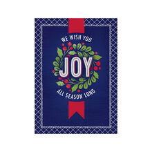 Joy All Season Holiday Business Hallmark Card
