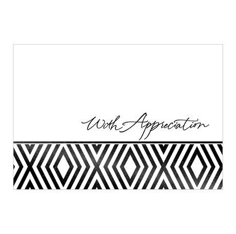 Appreciation in Black & White