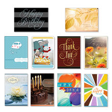 Assorted Cards for Business, All Occasions, 50 Pack