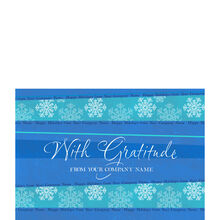 Holiday Gratitude Personalized Cover Hallmark Card