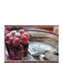 Raspberry Cake Birthday
