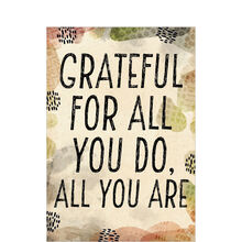 Black & Tan Grateful Appreciation Card