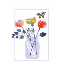 Just Because Card (Flowers in Bottle) for Business