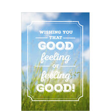 Happy Healthy You Business Hallmark Card
