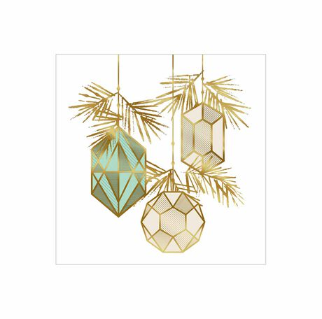 Outlined Ornaments
