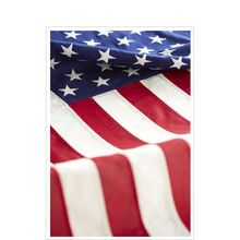 Patriotic Card (Bold American Flag) for Business