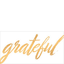 Grateful in Gold Customer Appreciation Hallmark Card