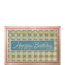 Circle Pattern Birthday
