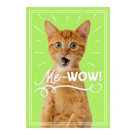 Cat's Me-Wow Employee Appreciation Hallmark Card