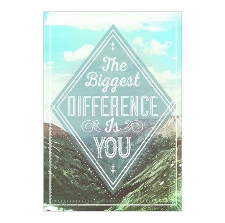 You Are the Difference Employee Appreciation Card