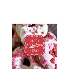 Valentine's Day Donuts Business Hallmark Card