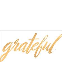 Grateful in Gold Customer Appreciation Hallmark Card