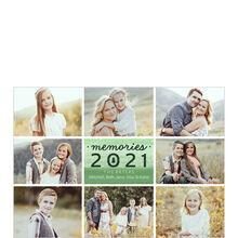 2021 Evergreen Memories Holiday Multi Photo Card