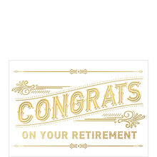 Congrats on Your Retirement Business Hallmark Card