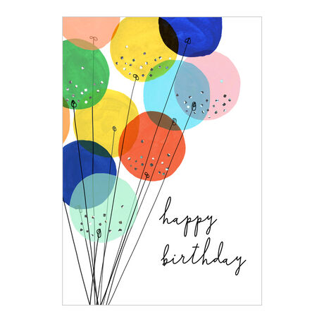 Birthday Card (Chic Balloon Bouquet) for Business