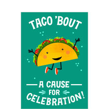 Taco Celebration Business Hallmark Card