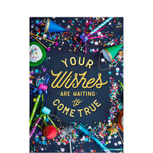Wishes Are Waiting Birthday Business Hallmark Card