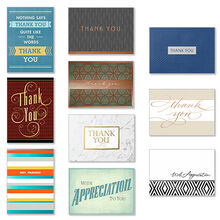 Assorted Thank You Cards for Business, 50 Pack