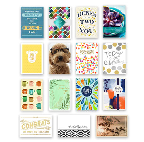 Assorted Hallmark Cards for Agents and Advisors, 75 Pack