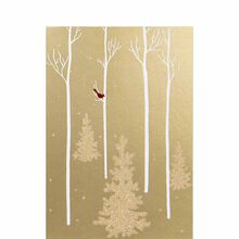 Business holiday cards business greeting cards hallmark golden lit forest colourmoves