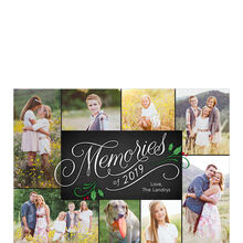 2019 Memories Hallmark Holiday Photo Collage Card