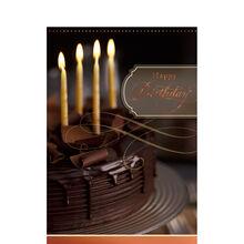 Chocolate Cake & Candles