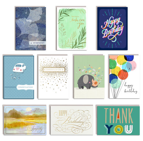 All Occasions Assorted Greeting Cards 50 Pack