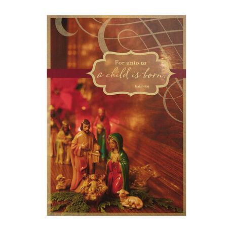 Antique Nativity Photo