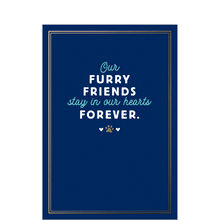 Loss of Pet Sympathy Card (Furry Friends) for Veterinarians & Animal Hospitals