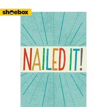 Nailed It Employee Appreciation Hallmark Card