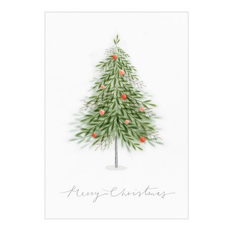 Christmas Card (Merry Christmas Tree) for Business