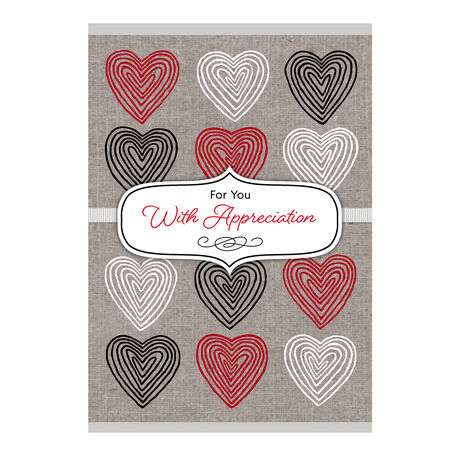 Appreciation Hearts