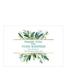 Thanks for Your Business Custom Cover Hallmark Card