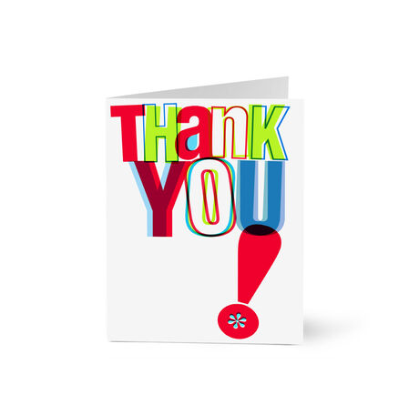 Bright Thank You Note Card Pack